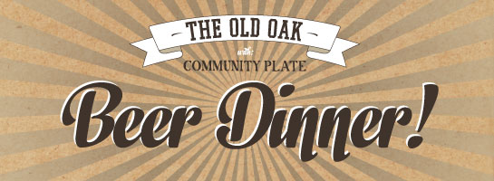 Beer Dinner @ The Old Oak | McMinnville | Oregon | United States